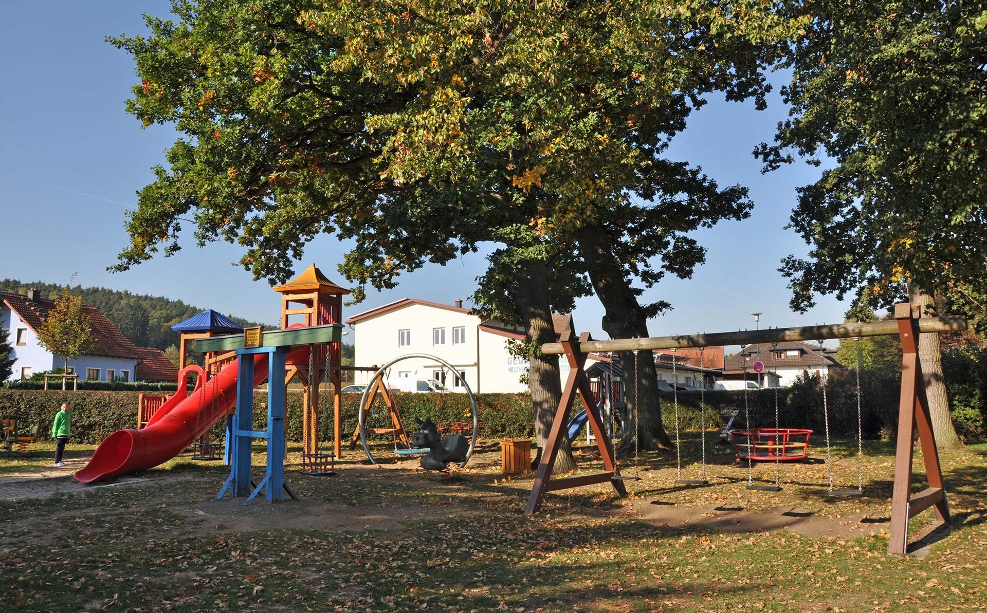 Gasthaus Kopf Idyllischer Biergarten Grosser Kinderspielplatz
